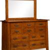 Amish Freemont Mission 10 Drawer Dresser
