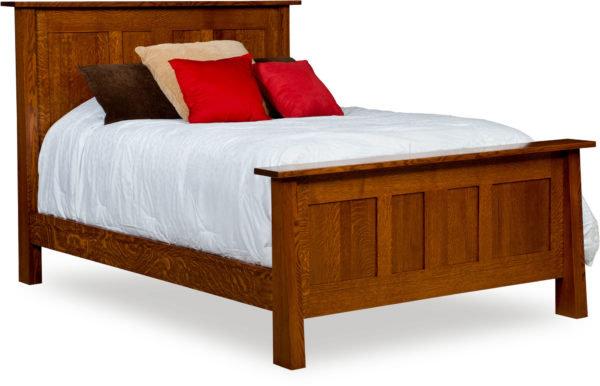 Amish Freemont Mission Panel Bed