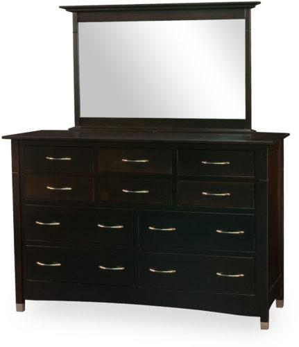 Amish Lexington 10 Drawer Dresser