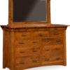 Amish Manitoba 9 Drawer Dresser