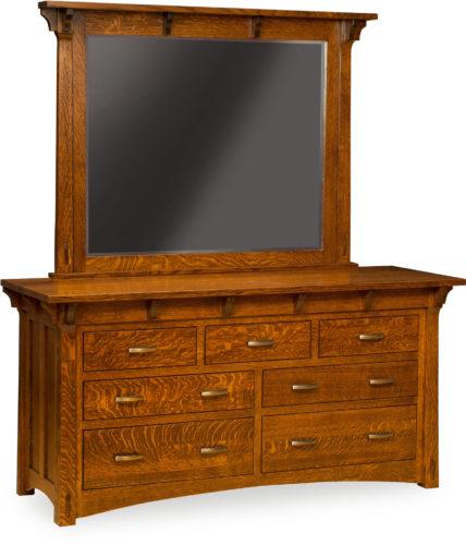 Amish Manitoba 7 Drawer Dresser