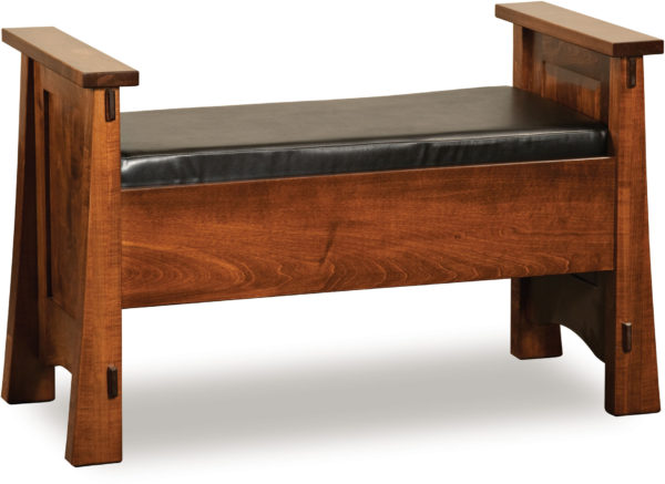 Amish Modesto Dressing Bench
