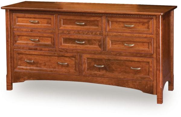 Amish West Lake Eight Drawer Dresser