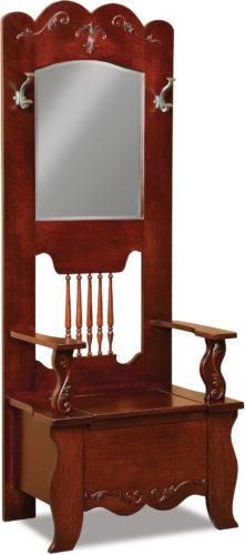 Amish Ellis Hall Seat