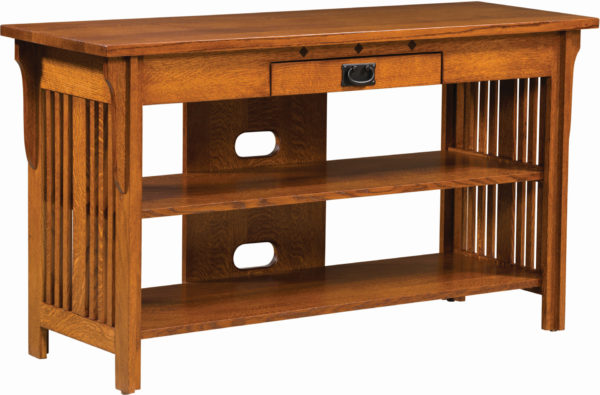 Amish Straight Royal Mission Open TV Stand