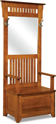 Amish Classic Mission Hall Seat