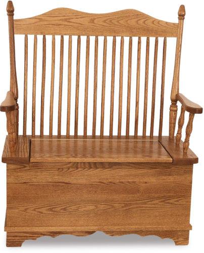 Amish Hoosier Bench
