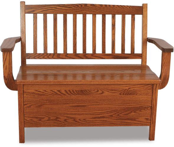 Amish Lowback Regular Mission Bench