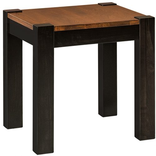 Amish Avion End Table