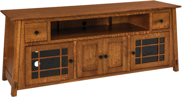 Amish McCoy Sound Bar TV Cabinets