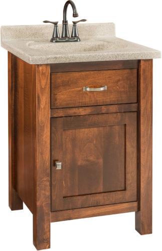 Amish Regal Single Free Standing Sink