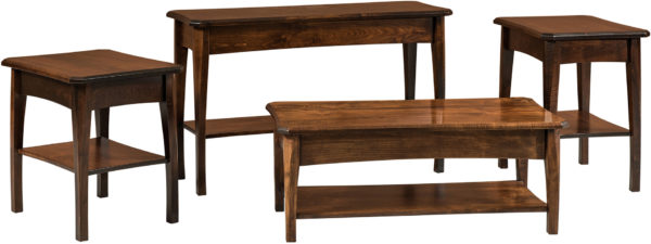 Amish Perry Occasional Table Collection
