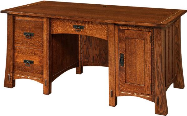 Amish Morgan Computer Desk