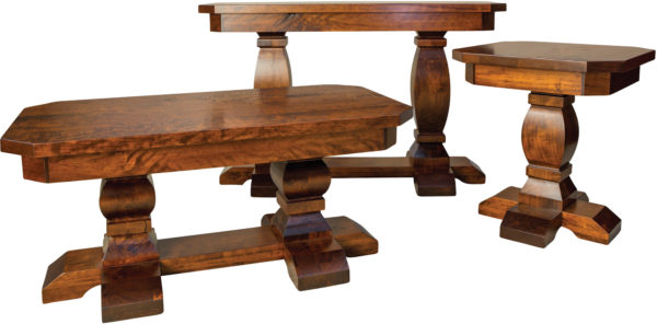 Amish Sierra Occasional Table Set