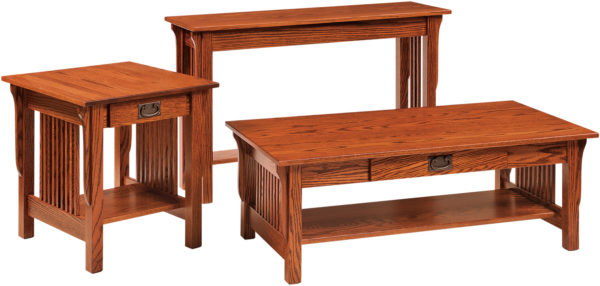 Amish Leah Occasional Table Set