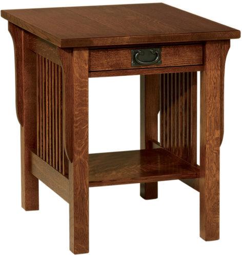 Amish Landmark Large End Table