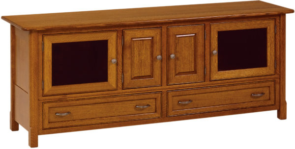 Amish West Lake 72 Inch TV Cabinet
