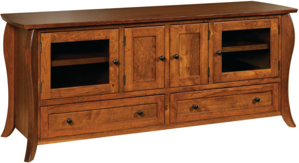 Amish Quincy 72 Inch TV Cabinet