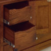 Amish McCoy 72 Inch TV Cabinet Drawer Detail