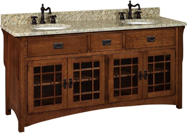Amish Landmark Double Basin Free Standing Sink