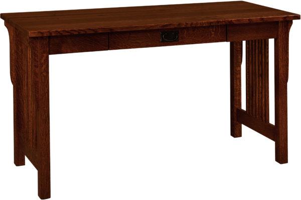 Amish Landmark Hardwood Pencil Drawer Desk