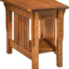 Amish Landmark Wedge End Table