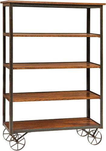 Amish Harper Short Open Bookcase