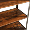 Amish Harper Reclaimed Lumber Bookcase Detail