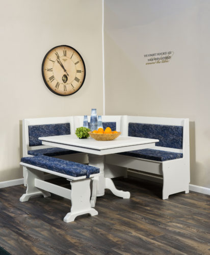 Amish Upholstered Traditional Nook Set