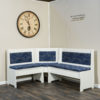 Amish Upholstered Traditional Nook Set No Table