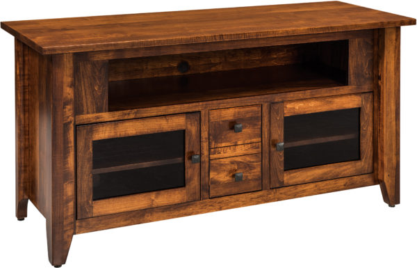 Amish Unity 59 Inch TV Cabinet