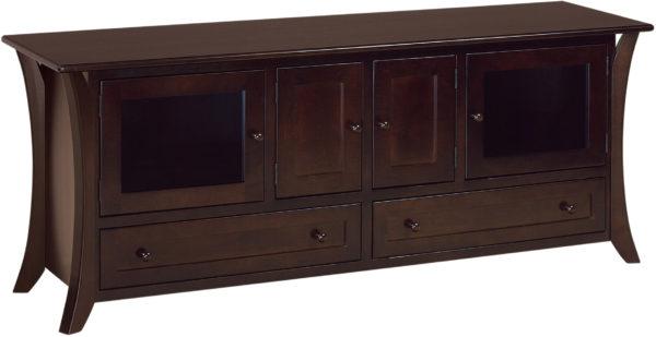Amish Caledonia Large 72 Inch TV Cabinet