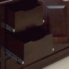 Amish Caledonia Drawer Detail TV Cabinet