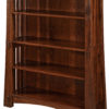 Amish Mesa 48 Inch Open Bookcase