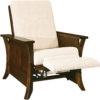 Amish Caledonia Recliner Reclined View