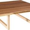 Amish Kalispel Live Edge Square Coffee Table