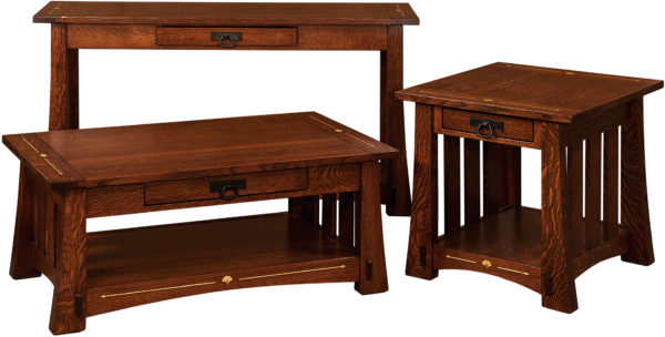 Amish Mesa Occasional Table Collection