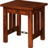 Amish Jordan Large End Table