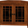Amish Mccoy Corner TV Cabinet