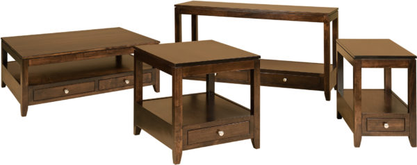 Amish Camden Occasional Table Set