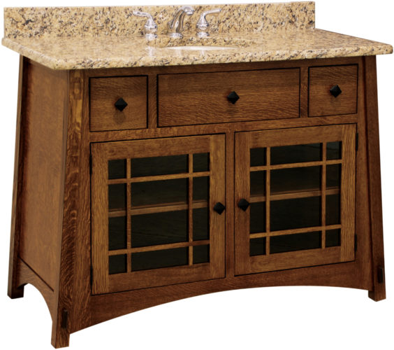 Amish McCoy 49 Inch Free Standing Sink