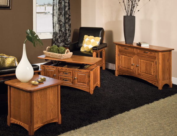 Amish West Lake Occasional Table Collection