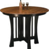 Amish Arts and Crafts Pub Dining Table