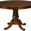 Amish Chancellor Single Pedestal Dining Table