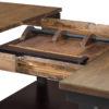 Amish Lexington Cabinet Table Leaf Storage