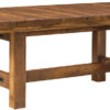 Amish Lynchburg Trestle Table with Leaves