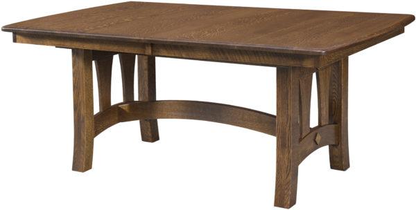 Amish Naperville Trestle Table