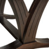 Amish Paris Trestle Dining Table Leg Detail