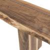 Amish Rio Vista Dining Bench Detail