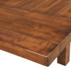 Amish Wellington Trestle Dining Table Edge Detail
